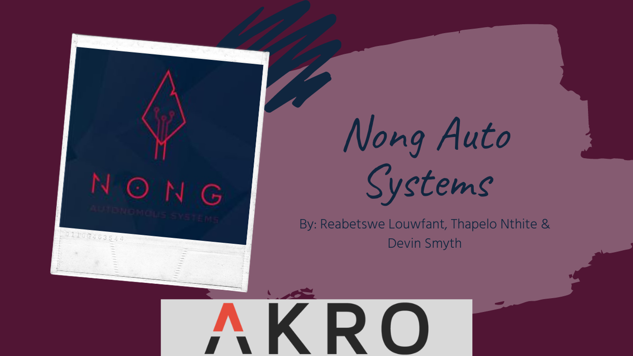NONG Autonomous Systems